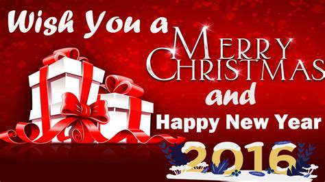 we wish you a merry and a happy new year