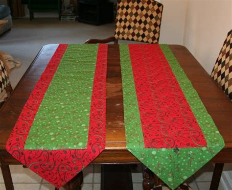 How To Sew A Table Runner by 10 Minute Table Runner 171 No Cape
