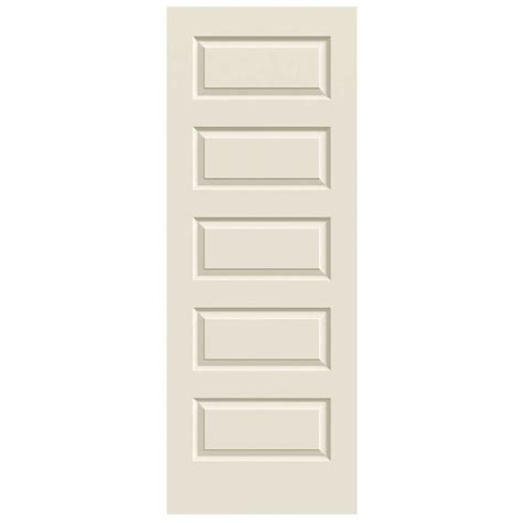 24 X 80 Interior Door Jeld Wen 24 In X 80 In Rockport Primed Smooth Molded Composite Mdf Interior Door Slab