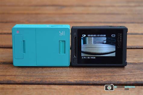 Gopro 4 Vs Xiaomi Yi comparativa gopro 4 silver vs xiaomi yi