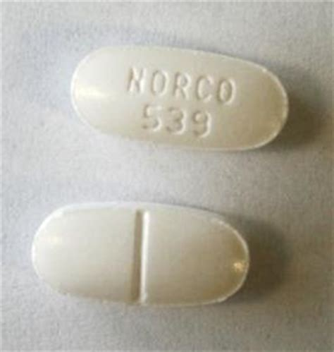 Can You Take Acetaminophen For During Norco Detox by Norco 539 Pill Norco 325 Mg 10 Mg