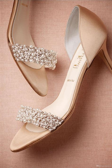 best shoos for colored hair top 25 best chagne wedding shoes ideas on