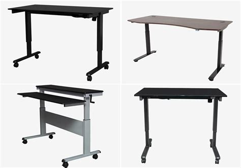 tall computer desks for home best height for a desk best home design 2018
