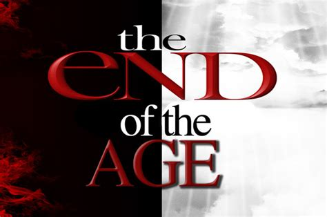 End Of The Age signs at the end of the age