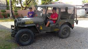 Willys Army Jeep For Sale 1945 Willys Jeep For Sale Luzon Bulacan