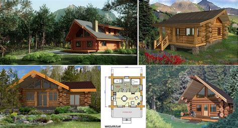 log cabin plans 1500 square