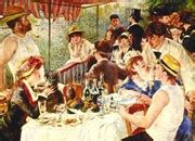 biografi lukisan luncheon of the boating party pierre auguste renoir impressionist painter biography
