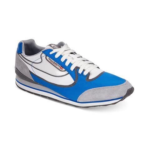 diesel sneaker lyst diesel raketier aramis sneakers in blue for