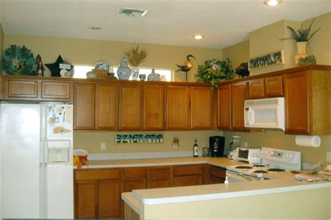 ideas for tops of kitchen cabinets ideas for on top of kitchen cabinets alkamedia com