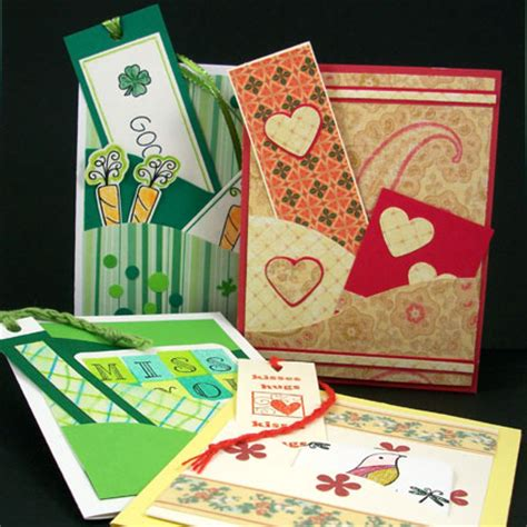 craft greeting card make pocket greeting cards tutorial greeting card class