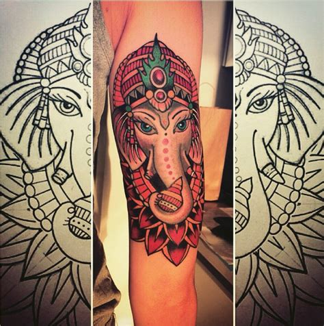 tattoo elefante ganesh significato ganesha tatuajes para mujeres