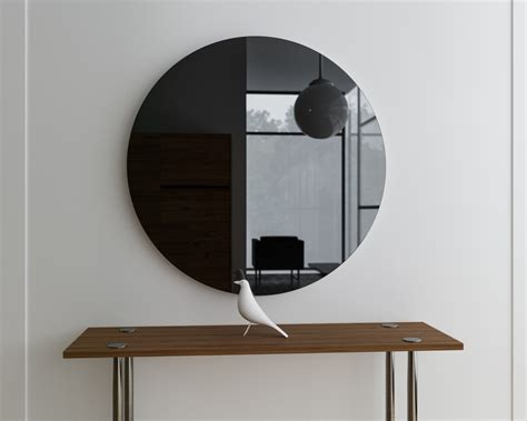 black mirror glass mirror coop
