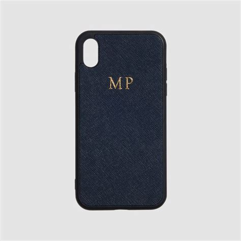ink navy iphone xr preorder monogram phone cases the daily edited