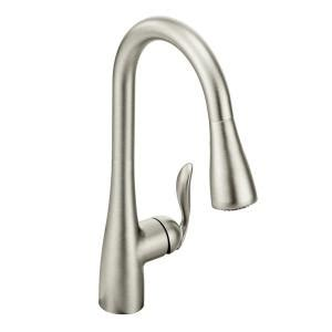 moen 7294csl arbor single handle pull out sprayer kitchen moen arbor single handle pull down sprayer kitchen faucet