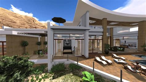 New American House Plans by Modern Villa Design In Muscat Oman By Jeff Page Of Sld