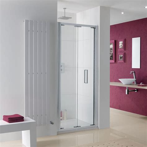 700mm Bifold Shower Door Lakes Coastline Bergen Bi Fold Shower Door 700mm
