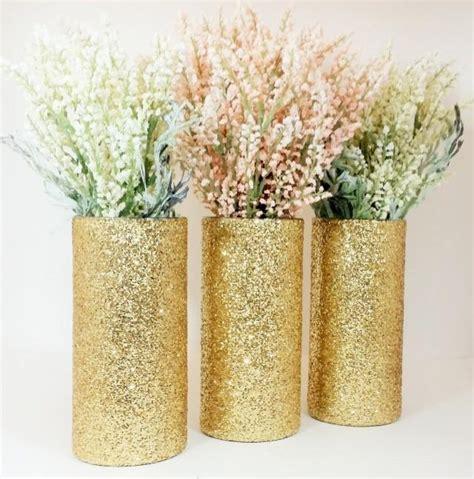 wedding centerpiece gold wedding decor cylinder vase