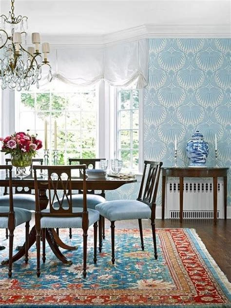 Farrow And Dining Room by Farrow And S Lotus Wallpaper In Charleston Dining