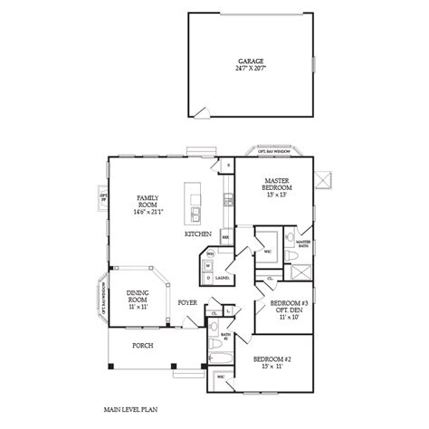 lenox floor plan the lenox baywood greens