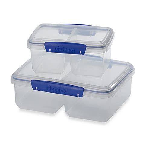bed bath and beyond containers sistema 174 klip it split food storage containers bed bath