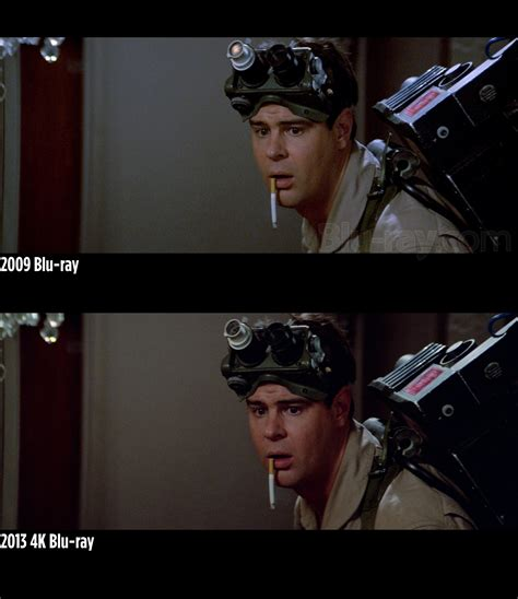 film blu ray 4k screen grabs comparison shots of ghostbusters 4k blu ray