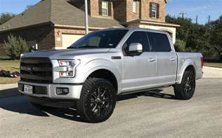 2016 ford f 150 lariat 4x4 the silver fox f150online