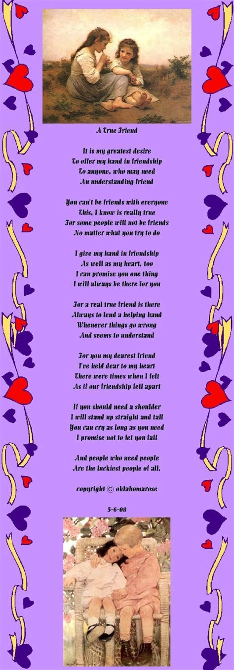 true friend poems true friend quotes and poems quotesgram