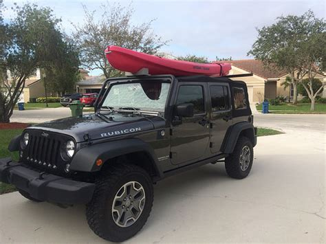 Small Truck Bed Tool Box Kayak On A Soft Top Jeep Wrangler Forum