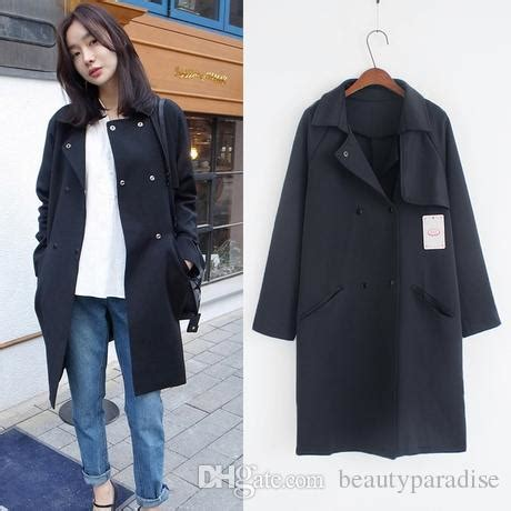 Trench Jacket Black Korean Style mt 서락산 abby 35 asianfanfics