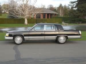 Cadillac Fleetwood 1990 Sell Used 1990 Cadillac Fleetwood Brougham De Elegence 5