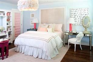 teenagers bedrooms pink and blue teen bedroom contemporary girl s room kristin peake interiors