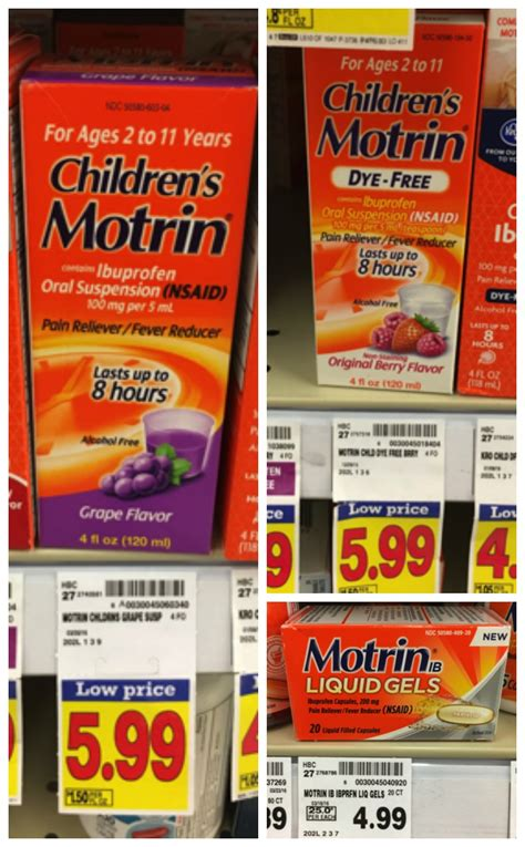 how much ibuprofen can you give a how much childrens motrin can a one year