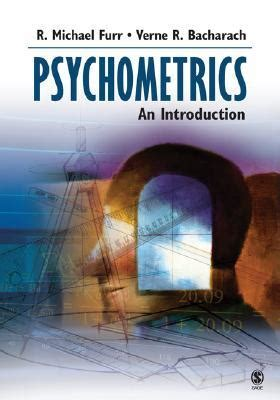 psychometrics an introduction by r michael furr