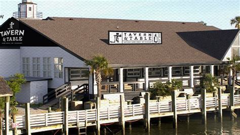 reds ice house new place tavern table pops up on shem creek eater charleston