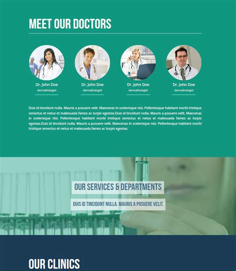 Dental Landing Page Template Health Care Dental Landing Page Theme By Fadeink Themeforest