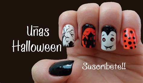 imagenes de uñas halloween 2014 c 211 mo decorar mis u 209 as halloween naila londo 241 o youtube