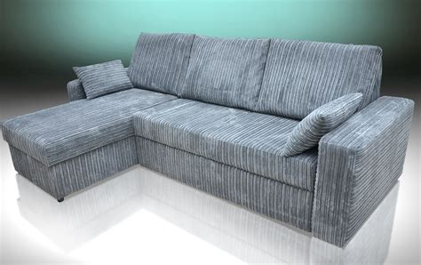 soft corner sofa bed corner sofa bed miami soft cord grey
