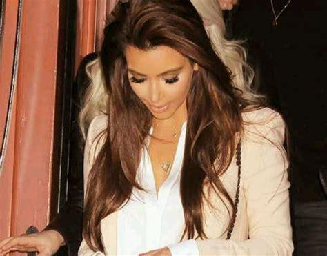 kim kardashian hair color brown kim kardashian brown hair color hair colors idea in 2018