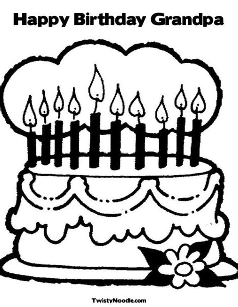 free coloring pages happy birthday grandpa happy birthday grandpa coloring pages
