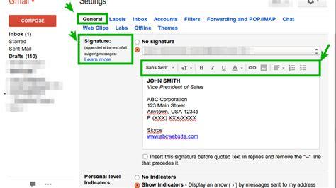 membuat signature pada yahoo mail cara membuat tanda tangan signature gmail di desktop