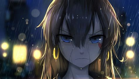 anime girl brown hair wallpaper angry girfriend wallpaper and background image 1400x803