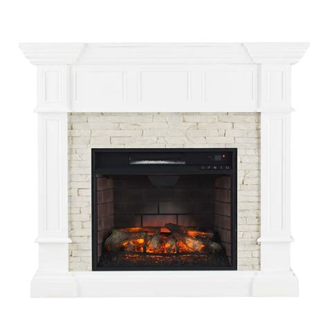 Southern Enterprises Electric Fireplace by Southern Enterprises Merrimack Corner Infrared Electric