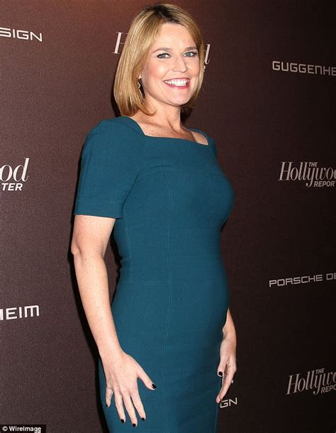is savannah guthrie pregnant the only make up i m wearing is joy savannah guthrie