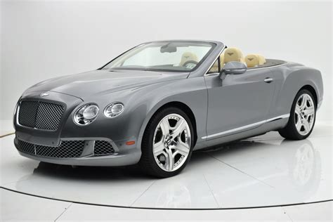 bentley finance department 2012 bentley continental gt w12 convertible