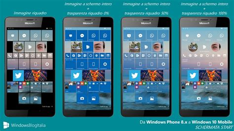 dirett it mobile differenze tra windows phone 8 1 e windows 10 mobile