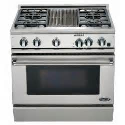 dcs ranges 36 inch dual fuel natural gas range with grill