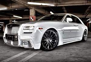 Rolls Royce Tuning Roll Royce Phantom White Tuning Concept Sport Car Design