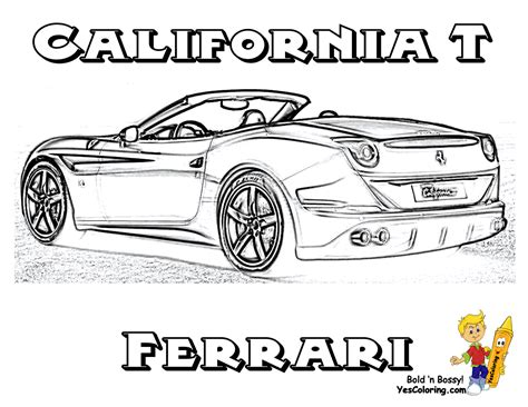 coloring pages ferrari cars ferrari coloring pages coloring home