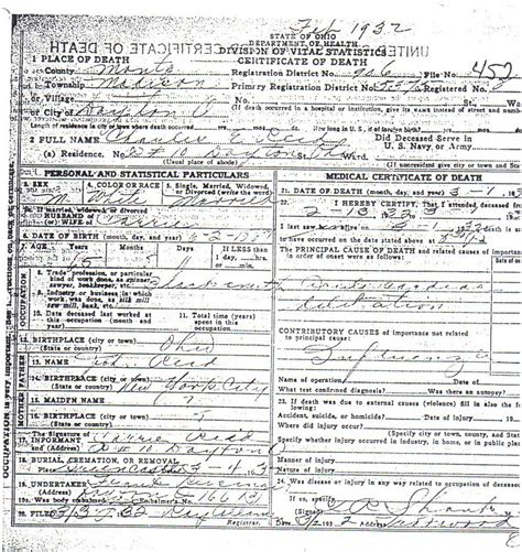 Montgomery County Birth Records Genealogy