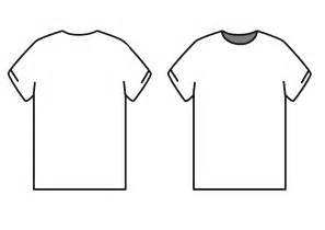 Photoshop T Shirt Template by Shirt Outline Template Clipart Best